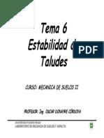 Tema 6 Estabilidad de Talud