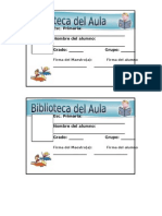 Credencial de Biblioteca