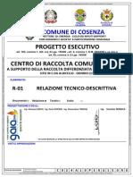 CENTRO DI RACCOLTA COMUNALE COSENZA R-01 Relazione Tecnico-Descrittiva.pdf