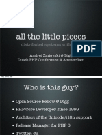 All the Little Pieces Distributed Systems With PHP