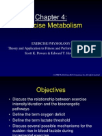 Chapter 04 (Exercise Metabolism)