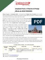 Comunicato Stampa_ Magica Offerta Disneyland e Parigi