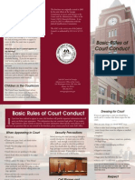 Basic Rules of Court Conduct