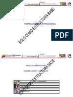 Estructura base Diseño Instruccional
