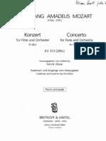 Mozart Concierto KV 313 Urtext_FL