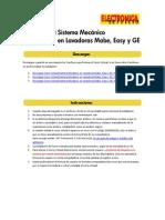 9026 Instrucciones Curso Lavadoras Sistema Mecanico Mabe, Easy y GE
