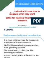 3 Choosing Performance Indicators Day One 9AM