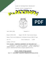 EE 1352 Monograph UnitIV