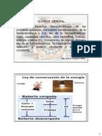 Clase Cap 6.2 Conc Term - 1ra Ley - q a P Cte