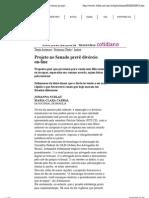 Folha de S.Paulo - Entrevista Atheniense - Projeto no Senado prevê divórcio on-line - 05_08_2009