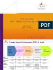 PPPs Lessons From the Last 18 Months