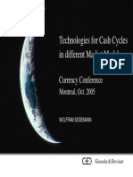 CC2005 Giesecke & Devrient Technologies for Cash Cycles in Different Market Models