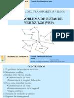 2.3 Problema de Rutas 2011