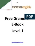English Grammar Tutorial Ebook