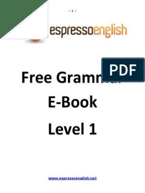 espresso english grammar level 4 pdf free download