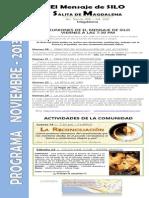 El Mensaje de SILO - Salita de MAGDALENA - Programa NOVIEMBRE 2013