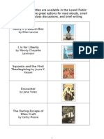 grade 2 book list for read alouds
