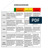 pantomime solo-partner rubric