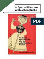 Schuhholz, Anneliese - Köstliche Spezialitäten aus der schwäbischen Küche