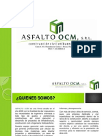 Perfil Asfalto OCM