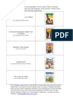 grade 3 book list for read alouds