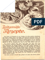 Dr Oetker - Rezepte Altes Heft Altdeutsch Geschrieben