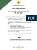 BPOM_KH.00.02.1.55.2891-14Jul09_Peringatan Publik Ttg Kemasan Makanan Dari Plastik Polivinil Klorida (PVC)