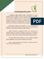 Sistema de Programacion Gantt