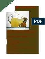 Chá termogênico para eliminar o inchaço