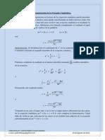 Demostración de la Fórmula General