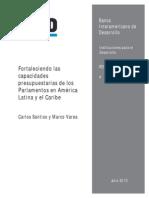 Fortaleciendo Las Capacidades Presupuestarias de Los Parlamentos en America Latina y El Caribe