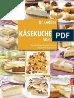 Oetker, Dr. - Kaesekuchen Von a-Z