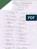 mathsassignmentclassxii