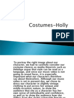 Costumes Holly