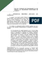 Composicao Do Contrato de Transporte Na Lei de Disciplinamento Do Transporte Rodoviario de Carga