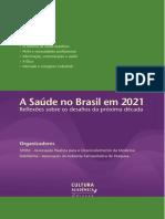 A Saúde no Brasil em 2021