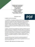 EXHORTACIÓN APOSTÓLICA -Familiaris Consortio