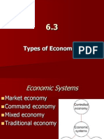 6 3 - types of economies