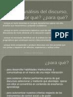 PPT-Análisis del discurso