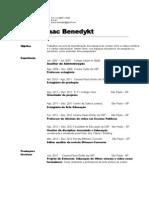 Currículo Breno I. Benedykt - 2013