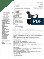 Canon Xa10 (Xa10e, Xa10p) Hd Camcorder Pal