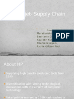 HP Deskjet- Supply Chain