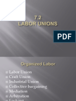 7 2 - labor unions