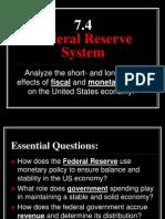7 4 - federal reserve system