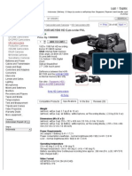 Sony Hxr-mc1500 (Hxr-mc1500e, Hxr-mc1500p) Hd Camcorder Pal