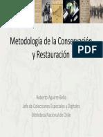 Metodología de la Conservación y Restauración1