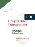 Eficiencia Energetica Caso Chile
