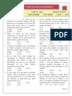 Planteo de Ecuaciones Prof. Luis Cottos1