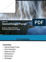 Clase 18 Geomorfologia Fluvial1