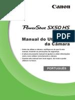 PowerShot SX50 HS Camera User Guide PT